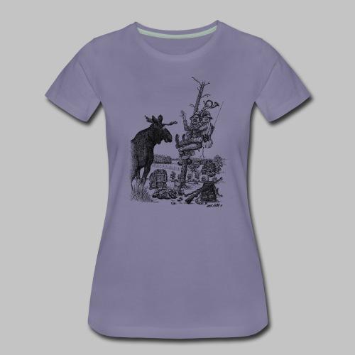 Älgjägarna - Premium-T-shirt dam