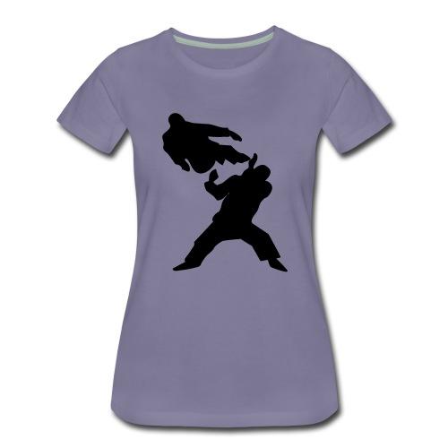 taekwondo ukot - Naisten premium t-paita