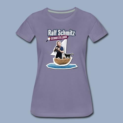 Tour T-Shirt Nußschale - Frauen Premium T-Shirt