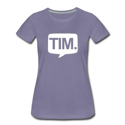 TimLogos Transparant png - Vrouwen Premium T-shirt