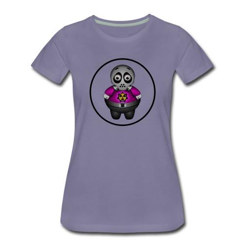 Radioactieve alien - Vrouwen Premium T-shirt