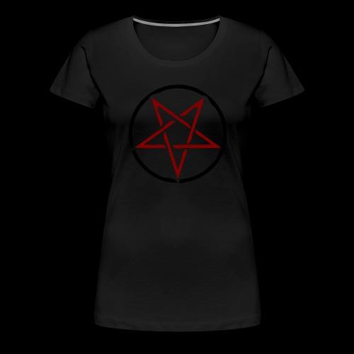 pentagram-158815_1280 - Frauen Premium T-Shirt