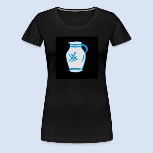 Mein Frankfurt Bembeltown - Frauen Premium T-Shirt