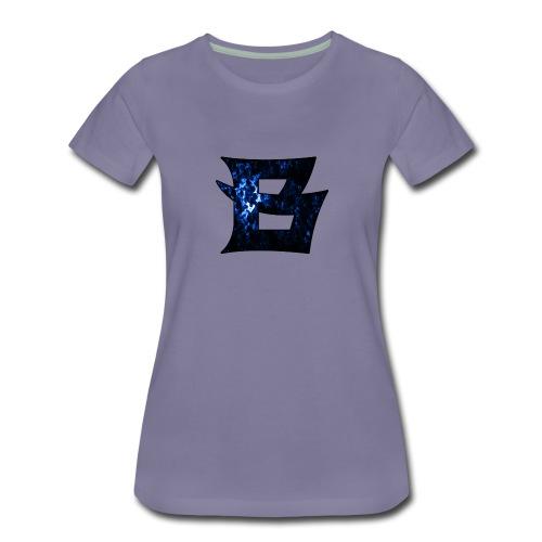 BLAU png - Frauen Premium T-Shirt