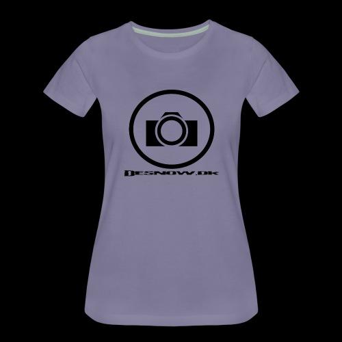 sort2 png - Dame premium T-shirt