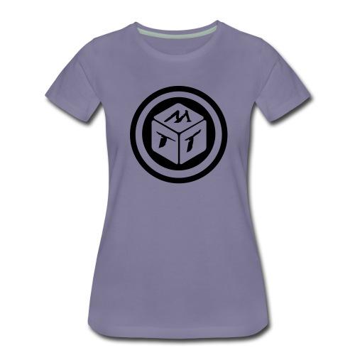 mb logo klein - Frauen Premium T-Shirt
