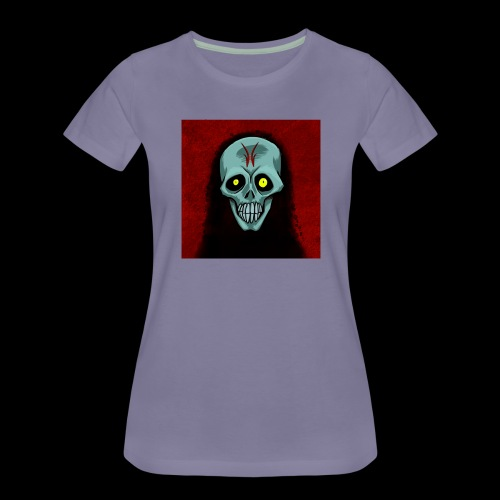 Ghost skull - Women's Premium T-Shirt