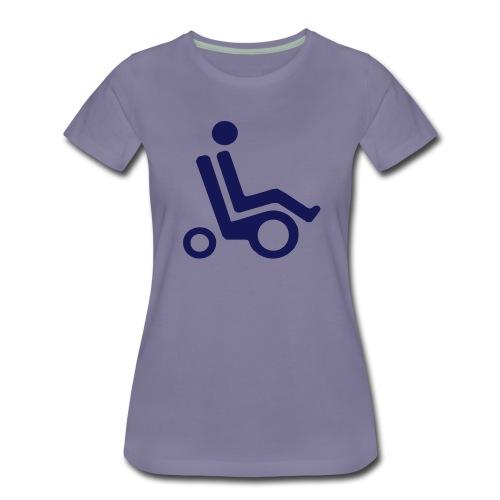 Elektrisk rullestol - Premium T-skjorte for kvinner
