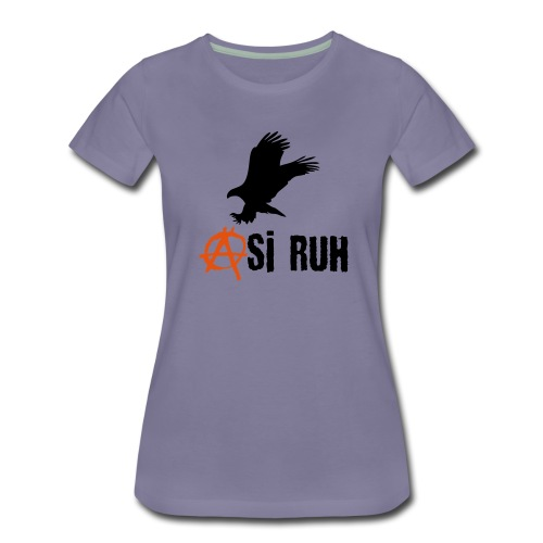 Asi Ruh Kartal - Frauen Premium T-Shirt