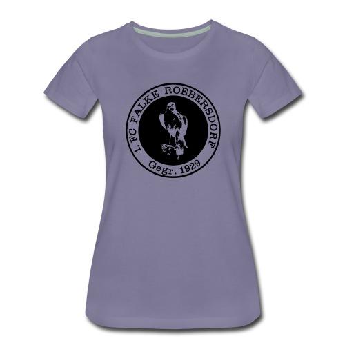 VORNE FCR LOGO RETRO - Frauen Premium T-Shirt