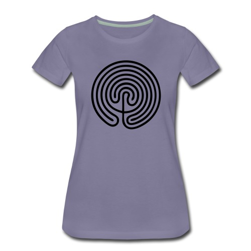 Labyrinth Men - T-shirt Premium Femme