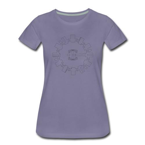 Interstellar_Endurance - Frauen Premium T-Shirt