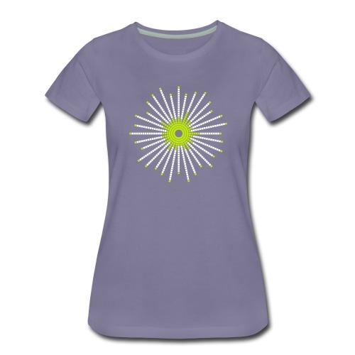 fancy_circle-png - Premium T-skjorte for kvinner