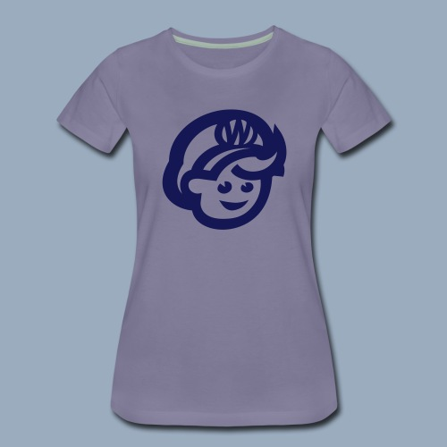 logo bb spreadshirt bb kopfonly - Frauen Premium T-Shirt