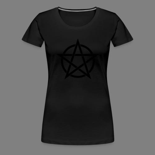 pentagramm - Frauen Premium T-Shirt