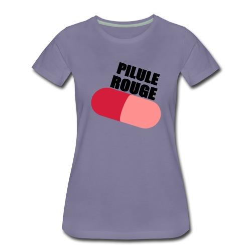 Pilule rouge - T-shirt Premium Femme