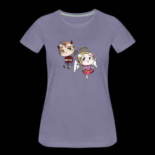 Engel & Teufel - Frauen Premium T-Shirt