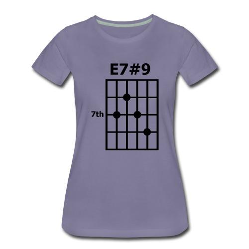 E7#9 - Frauen Premium T-Shirt