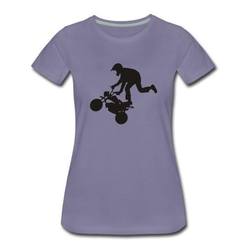 Monkey keulii - Naisten premium t-paita