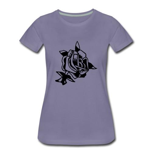 ROSE - Frauen Premium T-Shirt