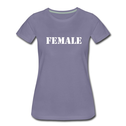female - Women's Premium T-Shirt