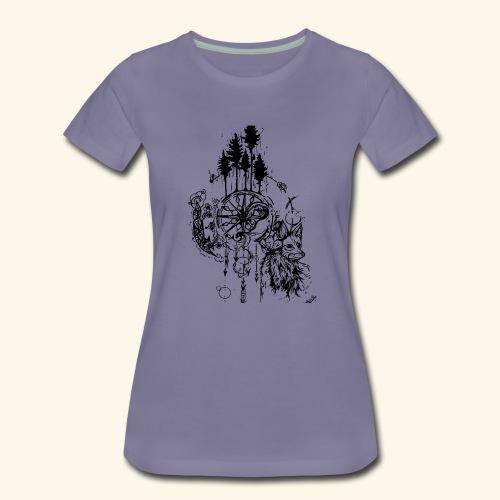renard nature - T-shirt Premium Femme