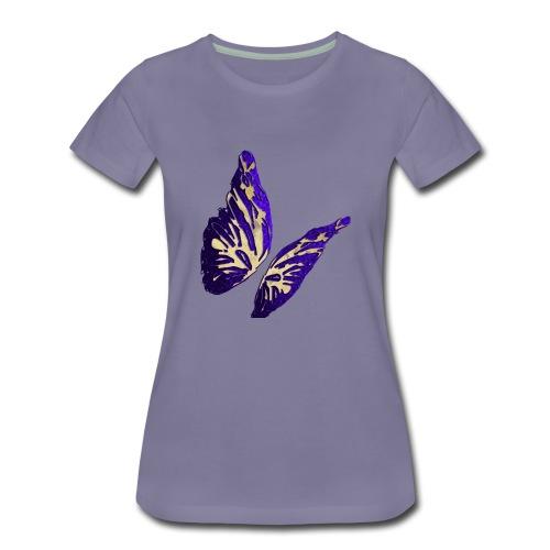 Golden Butterfly 2 - incantevole farfalla colorata - Maglietta Premium da donna