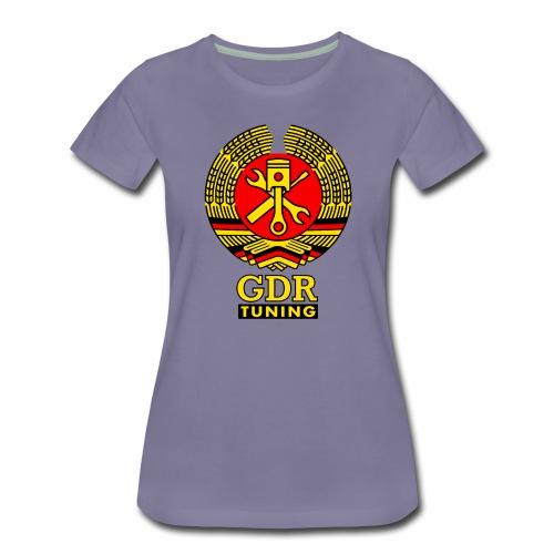 GDR Tuning Coat of Arms 3c - Women's Premium T-Shirt