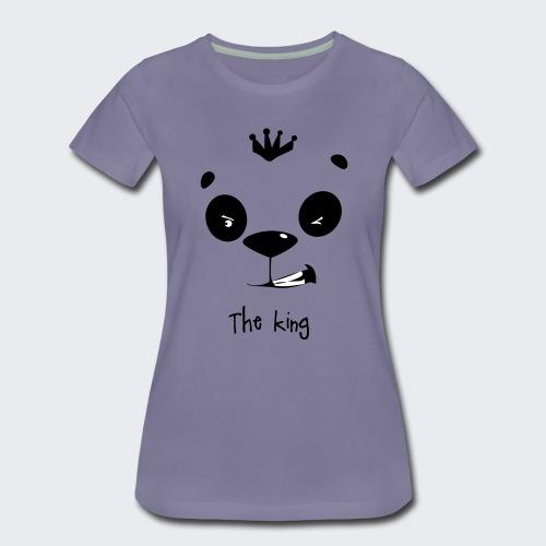 le roi des panda - T-shirt Premium Femme