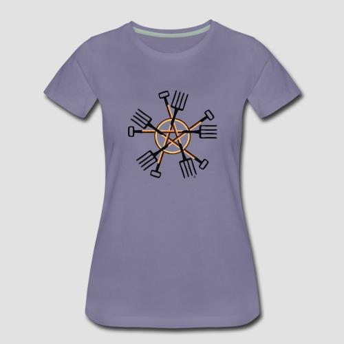 PAGAN GARDENER - Women's Premium T-Shirt