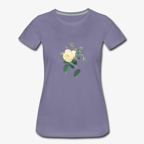 rose vintage - T-shirt Premium Femme