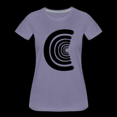 calm logo - Women's Premium T-Shirt