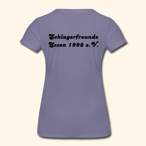 schlagerback01k - Frauen Premium T-Shirt