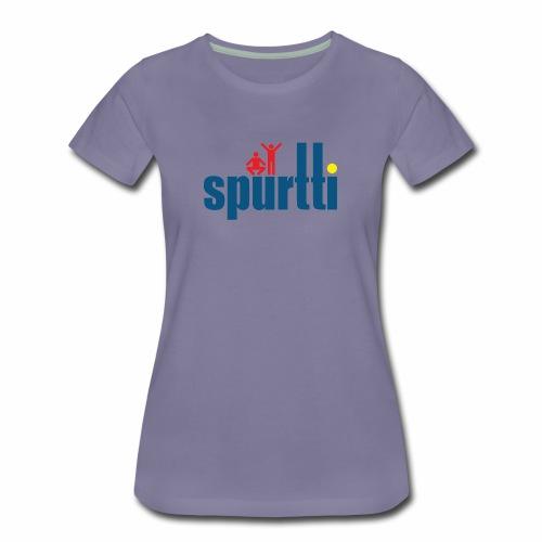 Spurtti Logo - Naisten premium t-paita