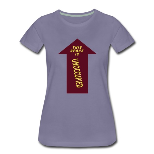 HM Murdock - Unoccupied Space - Women's Premium T-Shirt