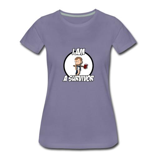 Game Survivant - T-shirt Premium Femme