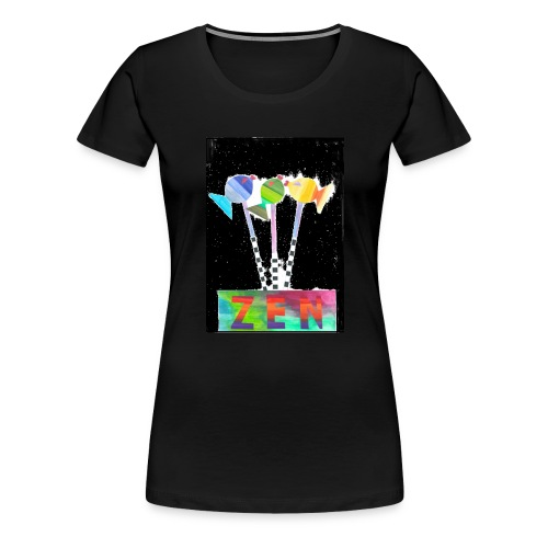 zen fish - Women's Premium T-Shirt
