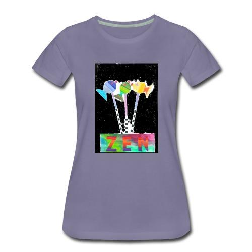 zen fish - Women's Premium T-Shirt