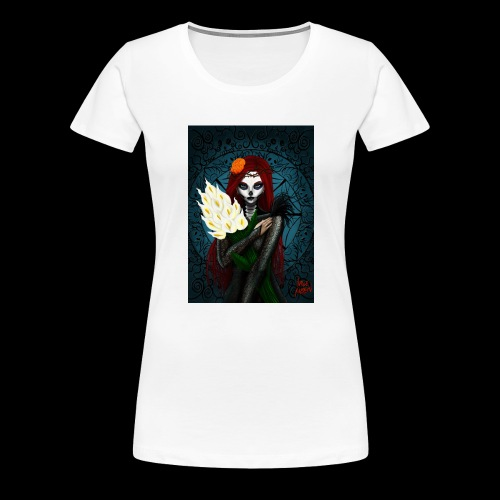 Death and lillies - Women's Premium T-Shirt
