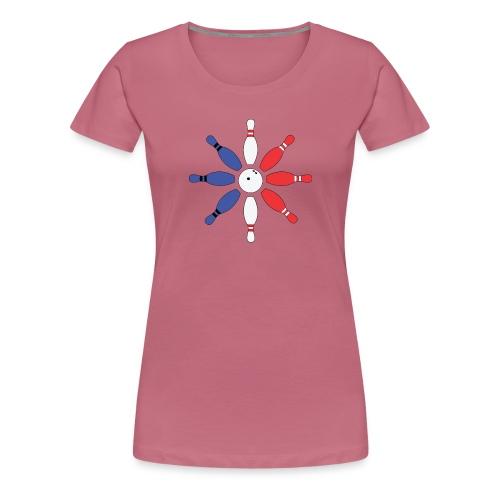 Roue de Quilles - T-shirt Premium Femme