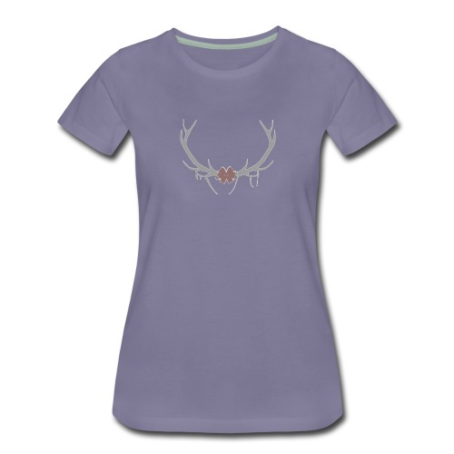 corne cerf - T-shirt Premium Femme