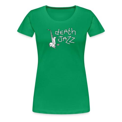 Death jazz (bold) - Vrouwen Premium T-shirt