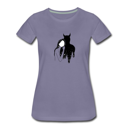 Dance with the Devil - Women's Premium T-Shirt