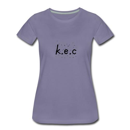 K.E.C sports kasket - Dame premium T-shirt