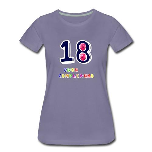 18 BUON compleanno - Maglietta Premium da donna