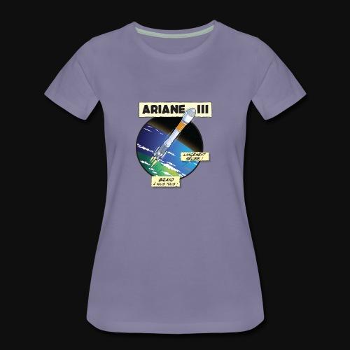 Ariane 3 - Space Objective - Women's Premium T-Shirt