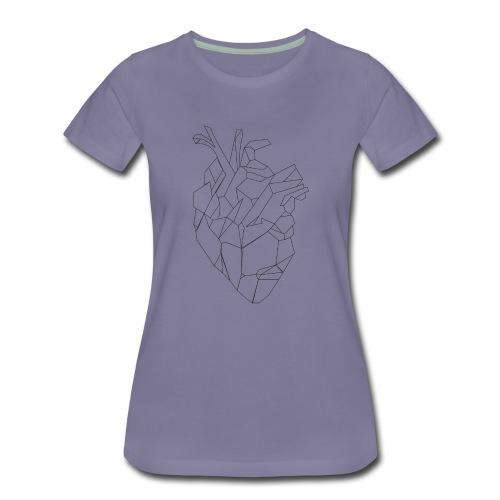FNS - Coeur - T-shirt Premium Femme