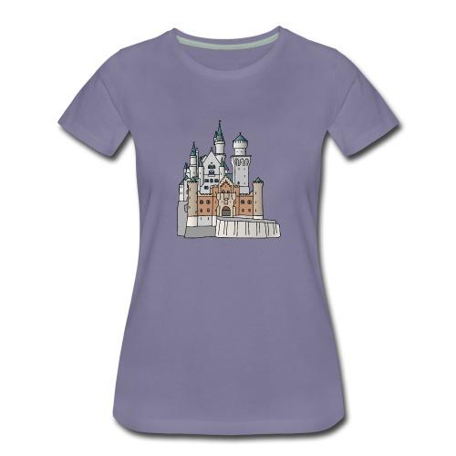 Schloss Neuschwanstein c - Frauen Premium T-Shirt