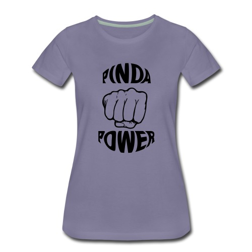 KIDS TSHIRT PINDA POWER - Vrouwen Premium T-shirt