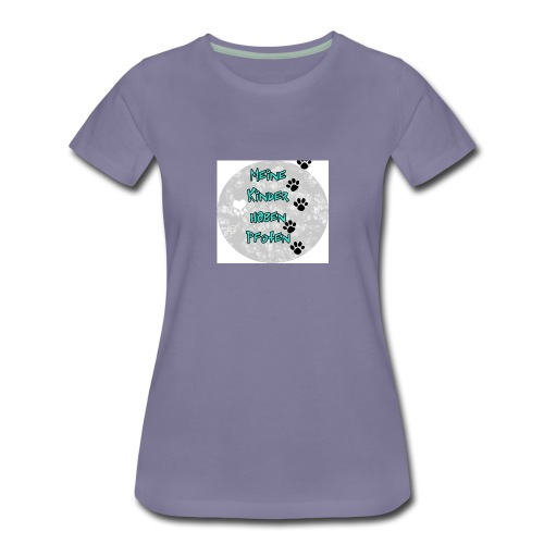 BUTTON3 png - Frauen Premium T-Shirt